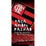 Toalha De Banho E Praia Aveludada Flamengo Raça Buettner
