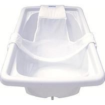 Rede Proteção Para Banho Banheira Seguro Bebê Neném Branco