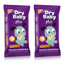 Lenços Umedecidas Drybaby Plus Cx C/ 8 De 50 Toalhinhas