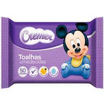 Toalha Umedecida Cremer Disney Baby 50 Unidades