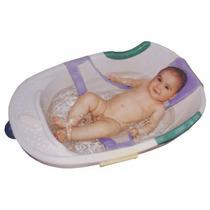 Rede Proteção Para Banho Banheira Seguro Bebê Neném Lilas