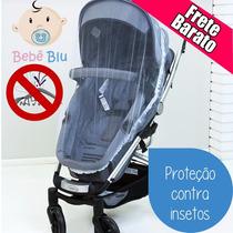 Bebê Mosquiteiro Carrinho Berço Tela Proteção Dengue Zika