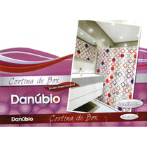 Cortina Para Box Banheiro Em Pvc - Danubio