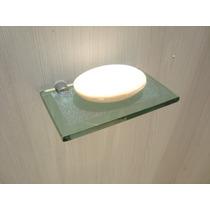 Saboneteira De Vidro Novidade Película Antiaderente Verde
