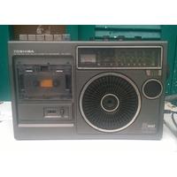 Antigo Radio Gravador Toshiba.