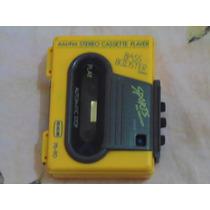 Walkman Am/fm Stereo Cassete Player Bass Booster System