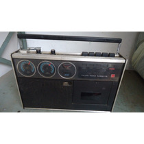 Radio Gravador Sharp Rd-438x Vintage N/funciona