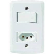 Tom/interruptor Modular Tramontina 4 X 2 Lux 2