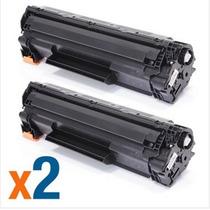 Kit 2 Un Toner Impressora Hp Pro Laserjet 1102w Ce285a