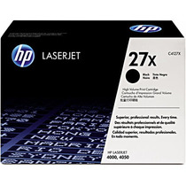 Toner Hp 27x Original C4127x Black - Hp Laserjet 4000 4050