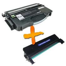 Fotocondutor + Cartucho Lexmark E120 Compativel Frete Gratis