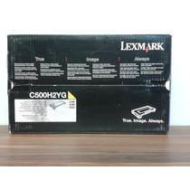 Cartucho Toner Lexmark C500h2yg Yellow C500 X500 X502