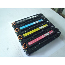 Kit C/ 4 Cartuchos De Toner Hp (128) 320,321,322,323 Vazios