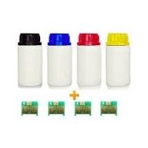 Kit 4 Refil De Toner + 4 Chip Samsung Clp 350 | 351 | K350a