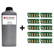 Toner Pó Refil 1k+10 Chip Samsung D104 | Ml1660/1665