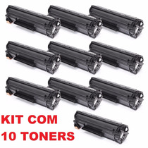 Kit 10 Toner Compativel Ce285a P1102w M1132 85a Frete Barato