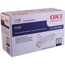 44315104 Kit Drum Oki C610 Black Novo Original Lacrado