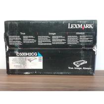 Cartucho Toner Lexmark C500h2cg Cyan C500 X500 X502