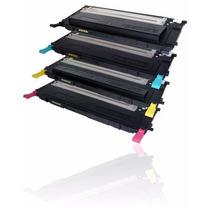 Kit 4 Toner Samsung Compativel Clp310 Clp315 Clx3175