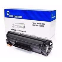 Cartucho Toner Compatível Hp Cb435a Cb436a Ce285a