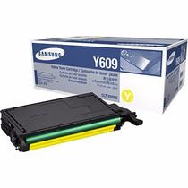 Toner Original Samsung Clt-y609s Y609 Amarelo Clp 770 Clp775