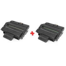 2 X Cartucho De Toner Samsung Ml 2850 Compativel