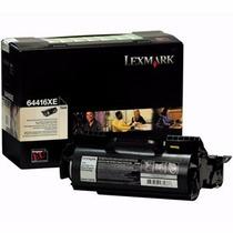 Toner Lexmark T640/ T642/ T644/ X642/ X644/ X646 Remanu 21k