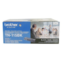 Cartucho De Toner Brother Tn 115bk Novo