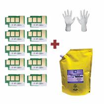 Kit Recarga 1kg Refil De Toner + 10 Chip Samsung Mlt D111s |
