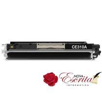 Toner Hp Ce310a Preto 126a Compativel Cp1025 Pro 200 M275