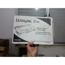 Toner Para Impressora Lexmart Modelo C-720 - Preto