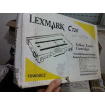 Toner Lexmart C-720 - Amarelo - Compre Já !