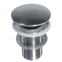 Ralo/válvula Para Cuba/pia Click Inox - Kit Com 2 Pçs