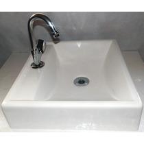 Cuba Sobrepor Para Banheiro Quadrada Branca