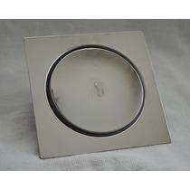 Ralo Inteligente Para Piso Em Inox - Tipo Click - 15x15