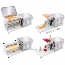 Kit 4 Em 1 Misturador Moedor Extrusor E Cilindro Eletrico