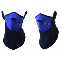 Touca Mascara Frio Balaclava Toca Azul
