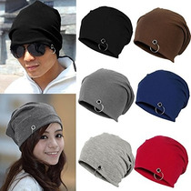 Touca Street Gorro Piercing Anel Beanie Swag Obey Caidinha