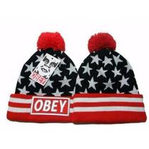 Touca Obey /star Usa Original Pronta Entrega Envio Imediato
