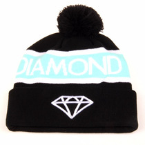 Touca Diamond Supply Co. Com Pompom Swag Modelo 2015