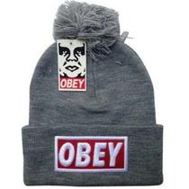 Toucas Obey Gorro Skate, Pom Pom A Pronta Entrega!