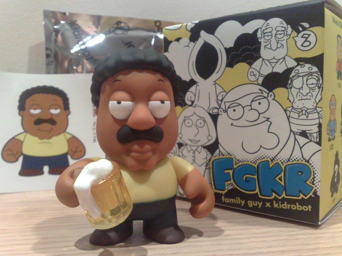 Cleveland Family Guy Toys : Toy art family guy familia pesada kidrobot cleveland dunny