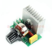 Regulador De Tensão E Controle De Velocidade 50 A 220v 3800w