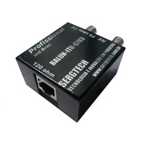 Kit 1 Conversor E1 T1 Balun + 2 Cabos Bnc / Bnc