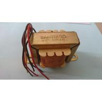 Transformador 6 + 6 Volts 350ma 110 X 220 Primeira Linha