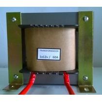 Transformador Trafo 110/220v 12v 60a 720 Watts