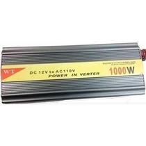 Inversor De Tensão Veicular 1000w De Energia 12v Para 110v