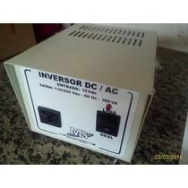 Inversor Tensão Bateria 12v 300va Nacional S/ 110v 220v Nf