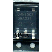 Transistor Smd 04n60c3 To252 - Novo - Pronta Entrega