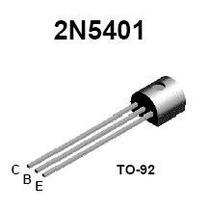 Kit 10 Peças Transistor Pnp 2n5401